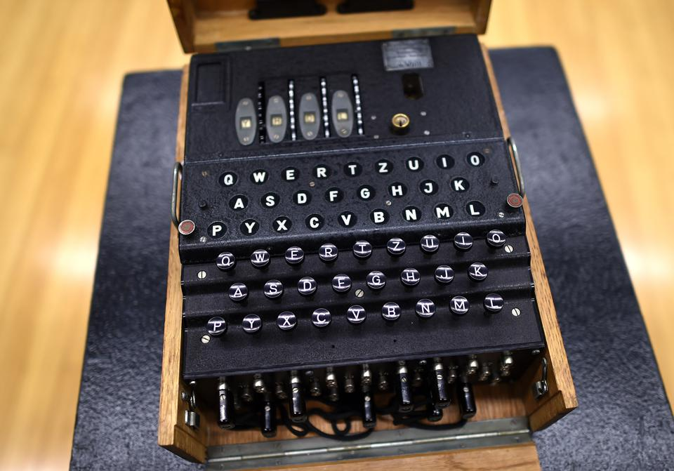 The Rarest Of WWII Nazi Enigma Encryption Machines Just ...