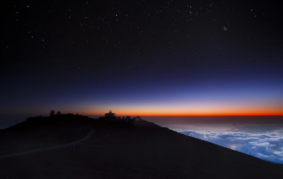 Haleakala's Starry NIght Sky