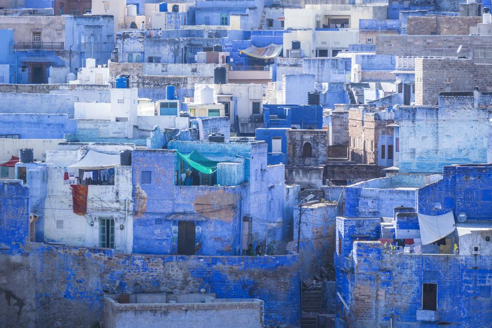Jodhpur the blue city Rajasthan India