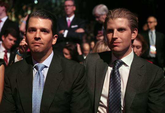 Meet The Two Trump Sons Who Will Reign Over His Empire