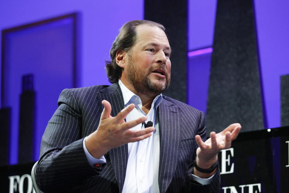 Marc Benioff, billionaire cofounder of Salesforce, was the top political contributor in San Francisco elections this year. He gave a total of $8.1 million, most of which went to supporting Prop C, a new corporate tax to create a homeless fund.