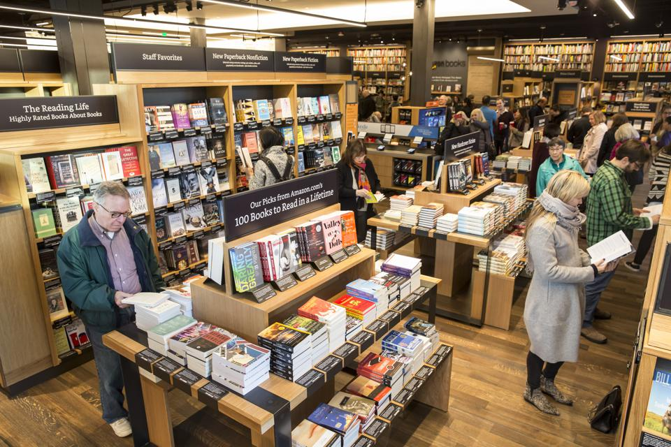 What Does Amazon's First Brick-And-Mortar Bookstore Tell Us About The Future?