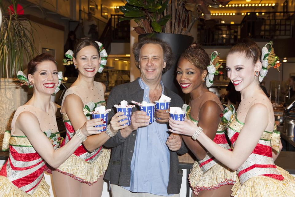 The Rockettes tiết lộ The City Bakery High Kicking Hot Chocolate