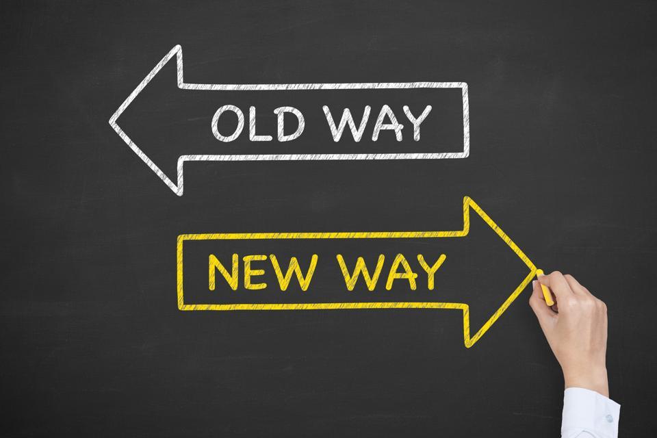 Old Way New Way on Blackboard