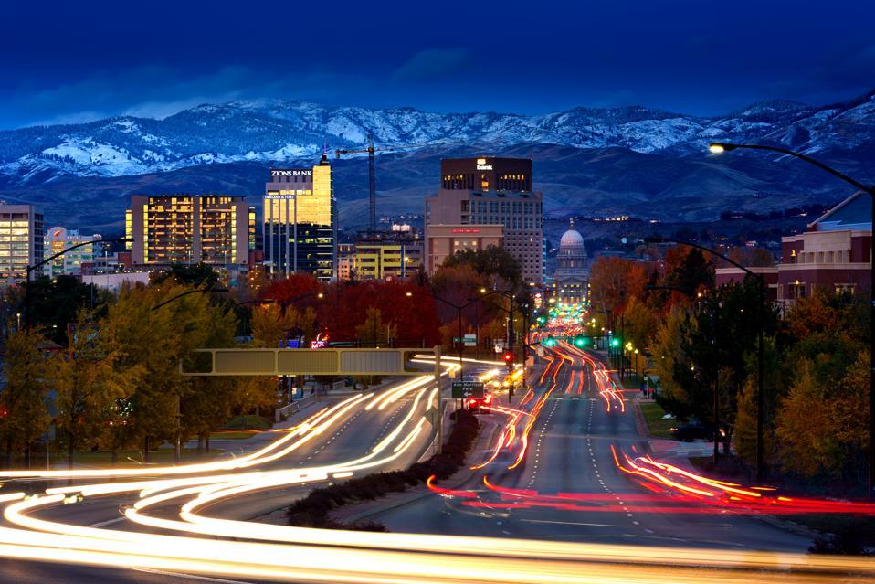 Boise Idaho coronavirus bounce back
