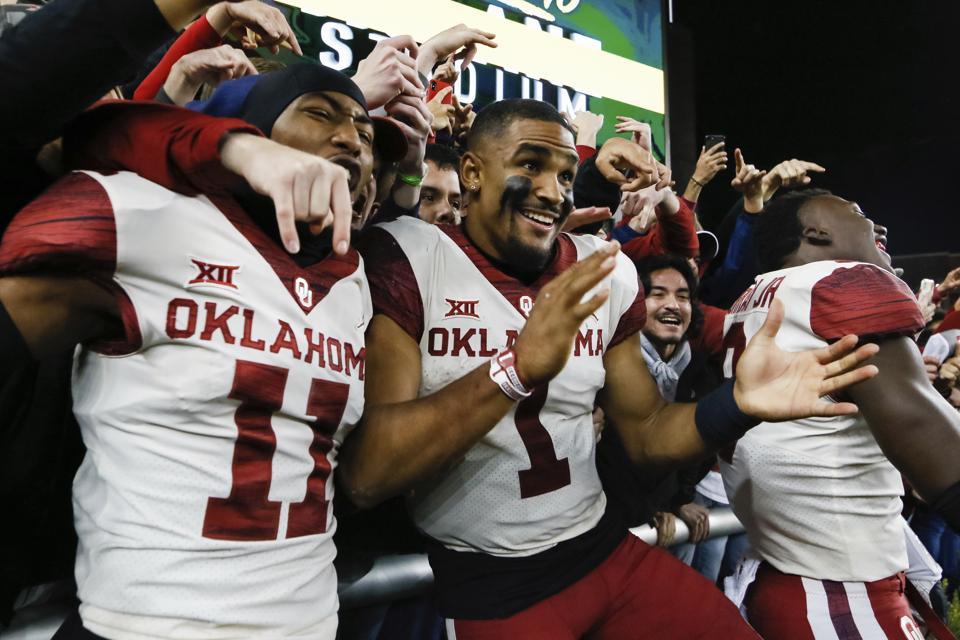 Oklahoma Baylor Football