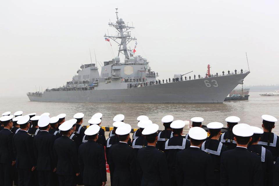 Chinese Warships Shadowing U.S. Navy: 'New Normal' In South China Sea