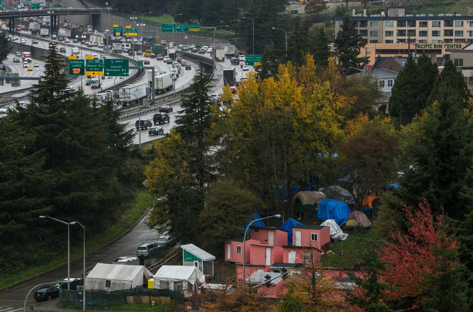 Seattle Illustrates How Big Cities' Limits On New Housing Contribute To Homelessness