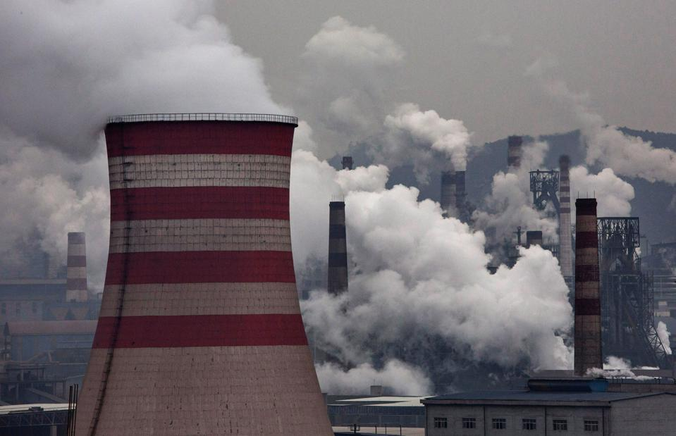 China is now responsible for 50% of the world's electricity generation from coal.