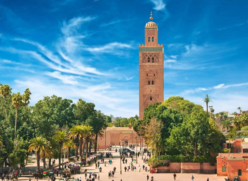 Main square of Marrakesh