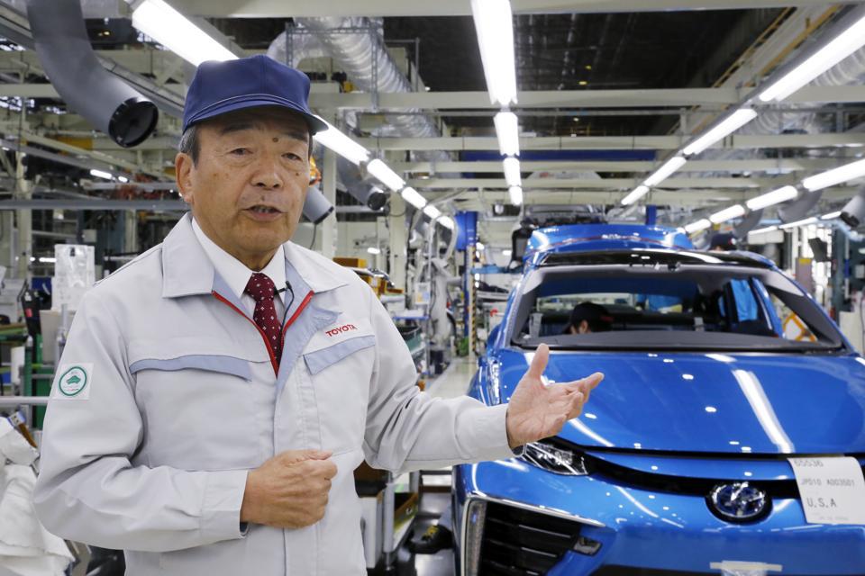 Japan Toyota Hydrogen