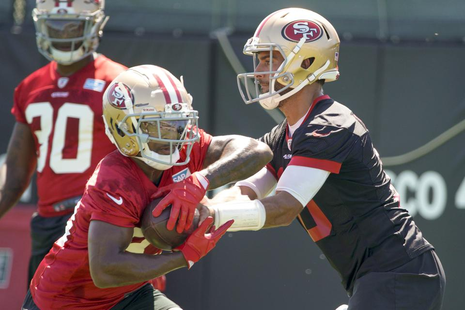 new concept 6a6ff 14d86 Jimmy Garoppolo Officially A Full Go for 49ers Training Camp ...