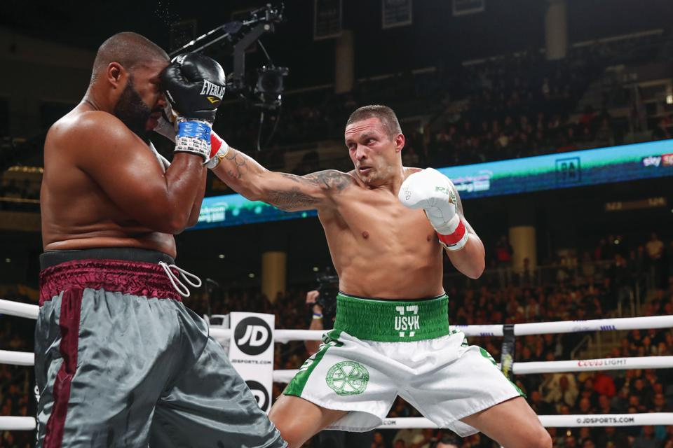 Usyk Witherspoon Boxing