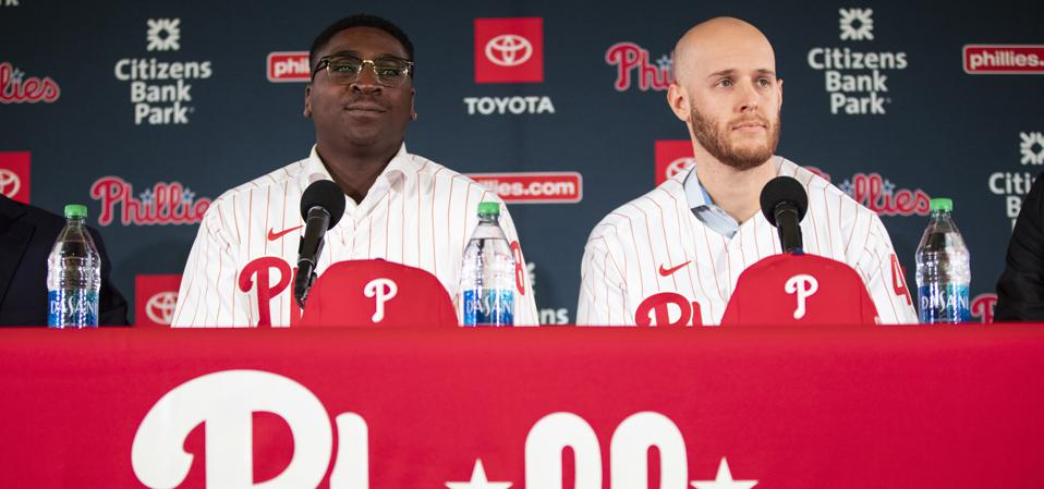 Phillies New Faces Baseball