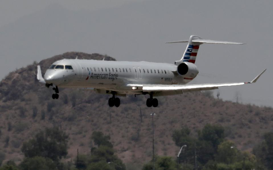 American Airlines canceled dozens of flights out of Phoenix on June 19 due to extreme heat