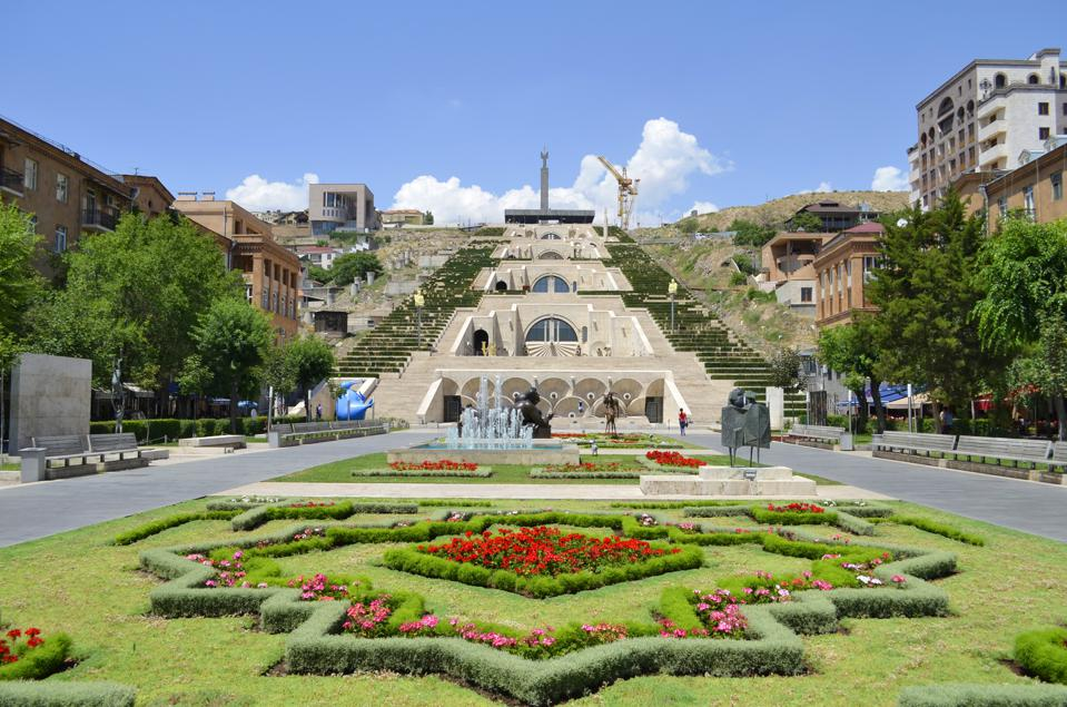 Cascade Complex in Yerevan, Armenia