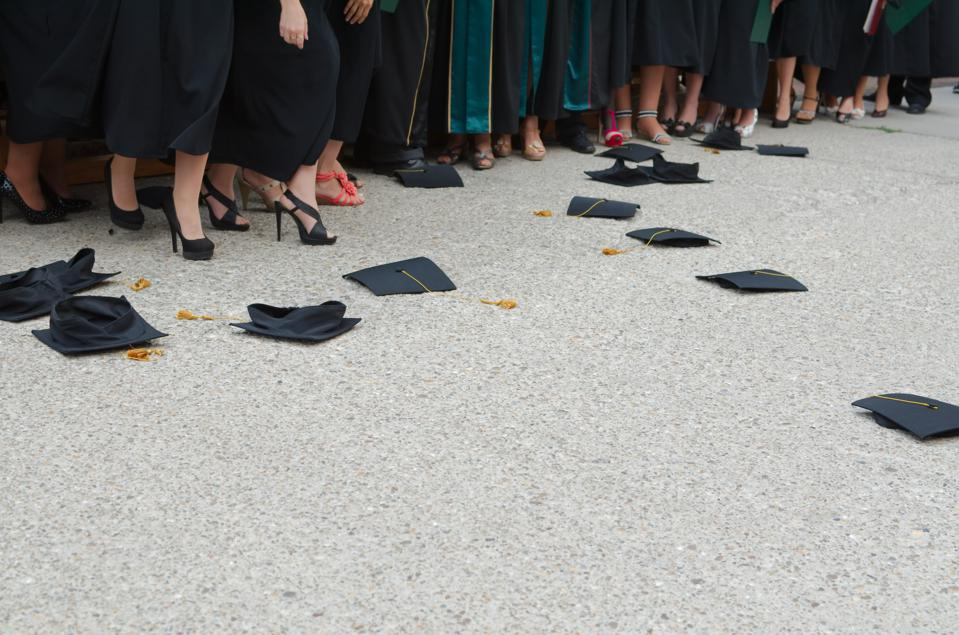 Mortar boards.