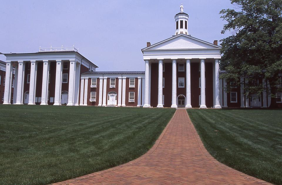 Washington and Lee University campus Lexington Virginia