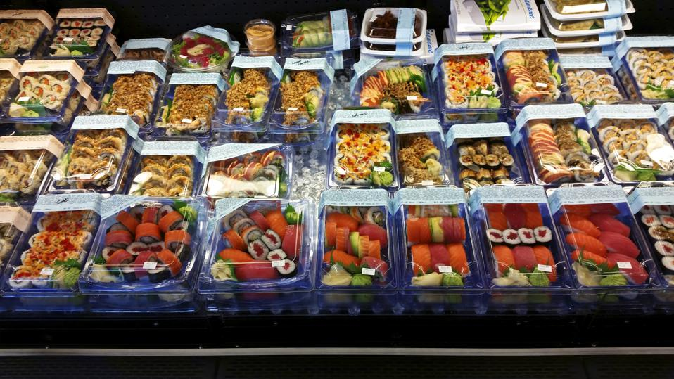 Packaged sushi prepared food grab and go grab-and-go grab & go salads sandwiches