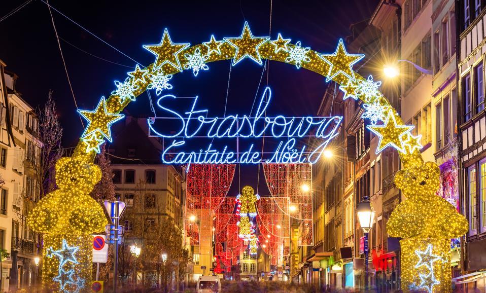 Christmas Market New York 2019.The Alsatian Strasbourg Christmas Market Comes To New York