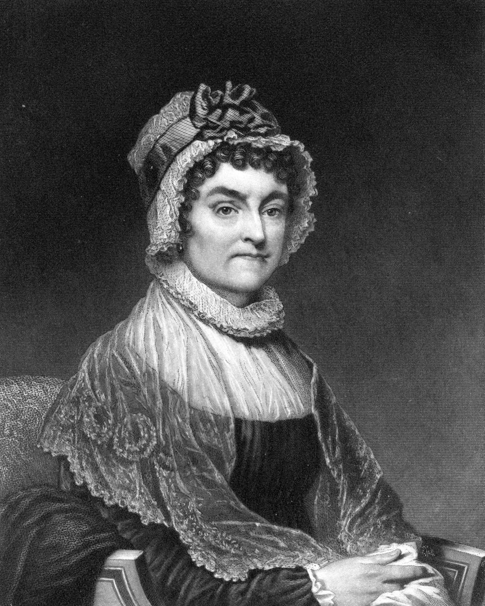 Abigail Adams, Seated Portrait