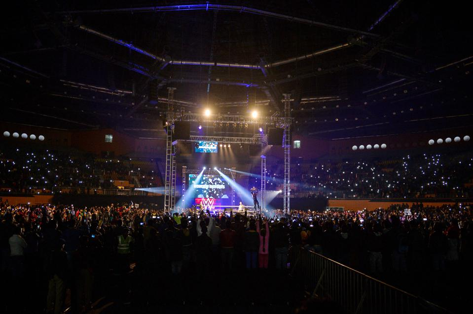 WWE show in India