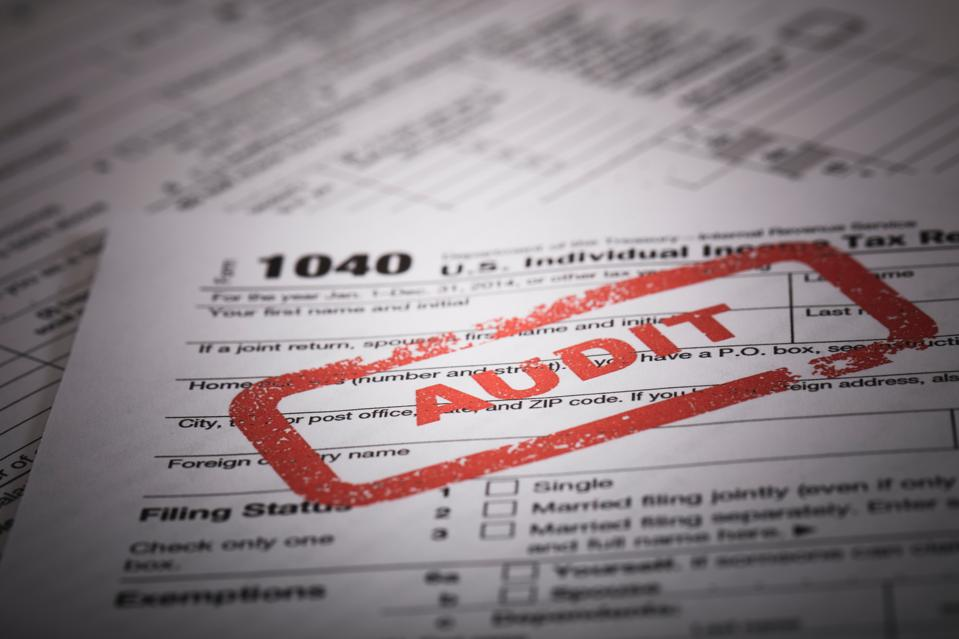 1040 income tax audit