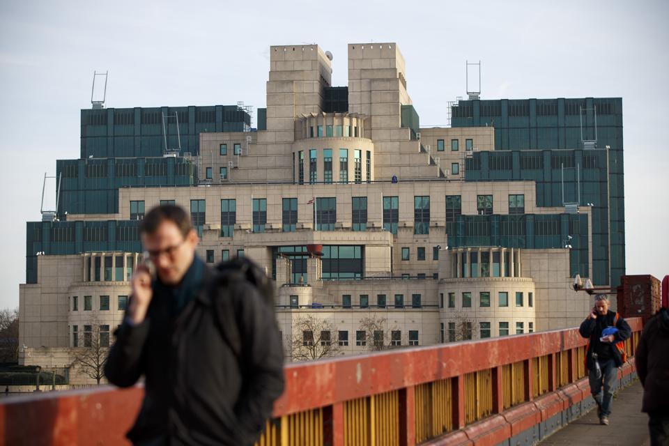 Headquarters of The British Secret Intelligence Service (SIS) - MI6
