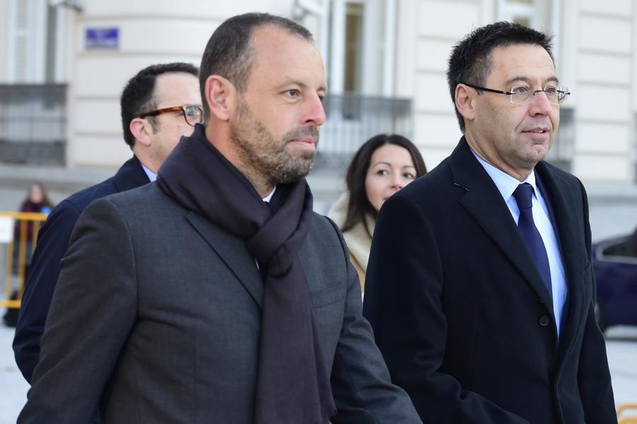 Former FC Barcelona President Arrested Following Raids In Spain