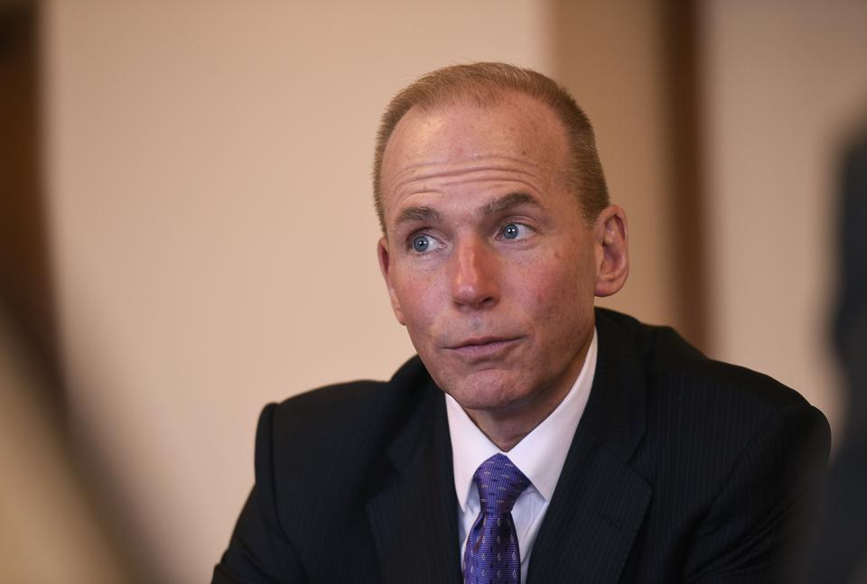 Profile Shoot Of Dennis Muilenburg, President And CEO of Boeing