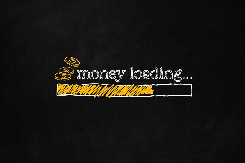 Money loading bar
