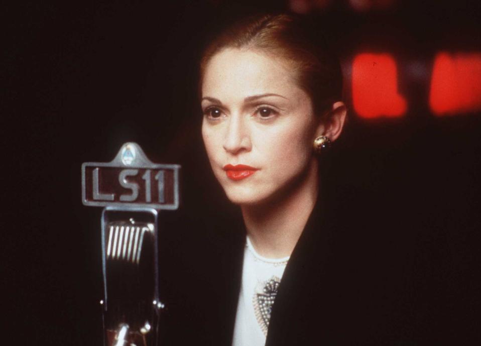 Madonna In The Movie Evita January 17 1997