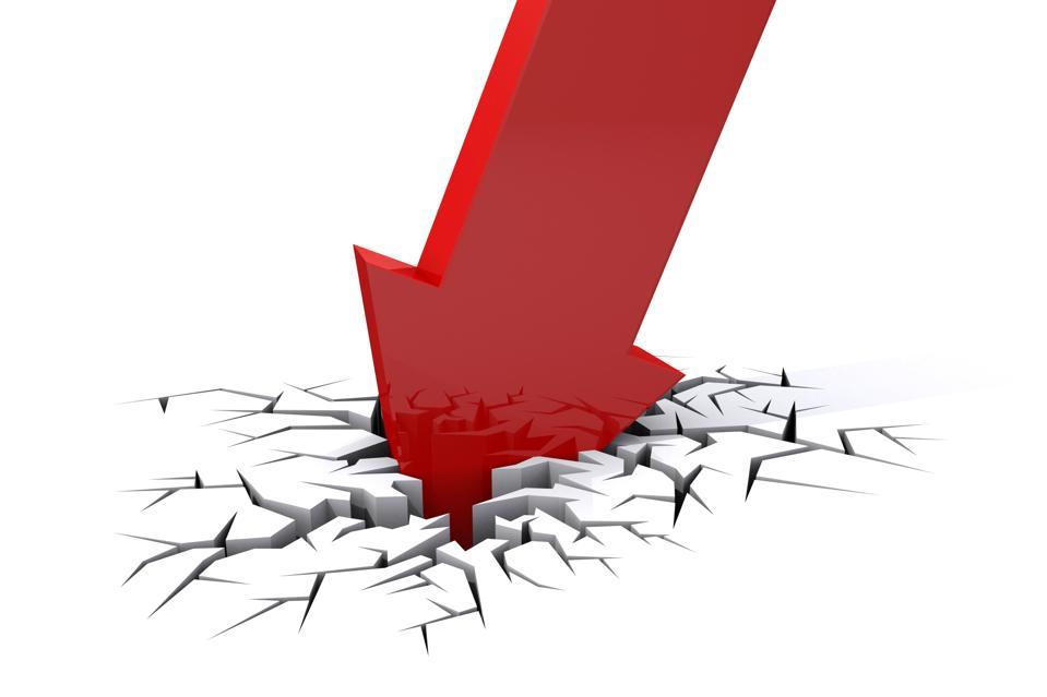 Economic Crisis. Bussiness fall.