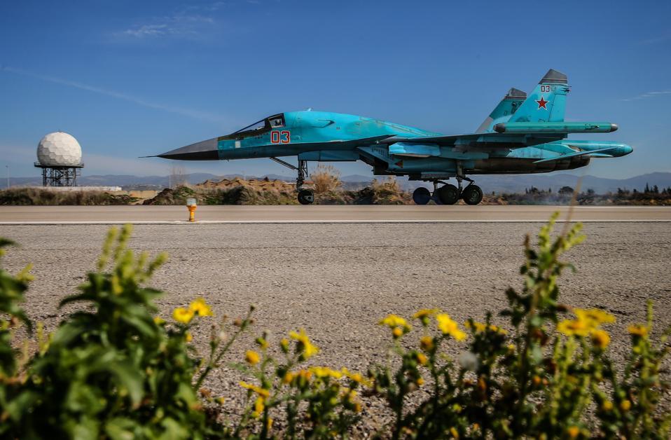 Hmeymim airbase in Syria