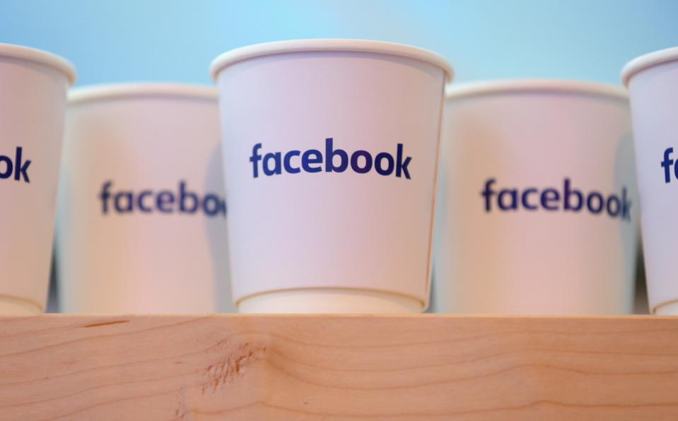 Facebook coffee cups