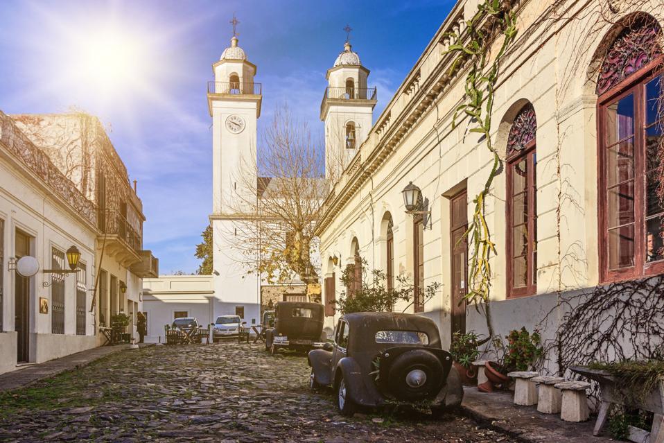 The historic quarter of Colonia del Sacramento, Uruguay