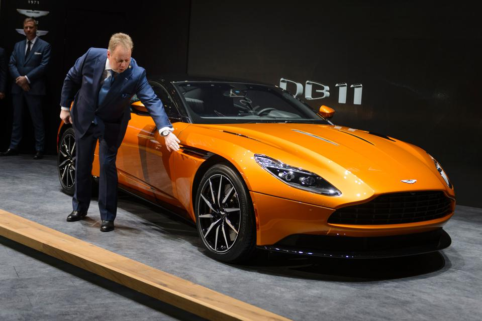 DB11 Will Lead Aston Martin's Recovery Plans