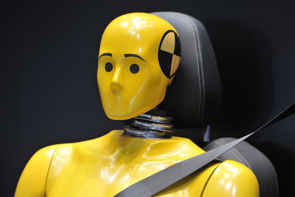 Test Dummies Car Crash