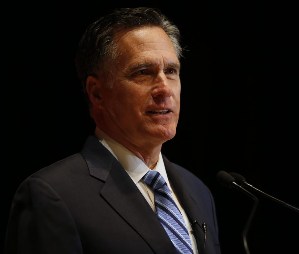 Trump Tax Hack A Joke But Romney Return 'Hacker' Isn't