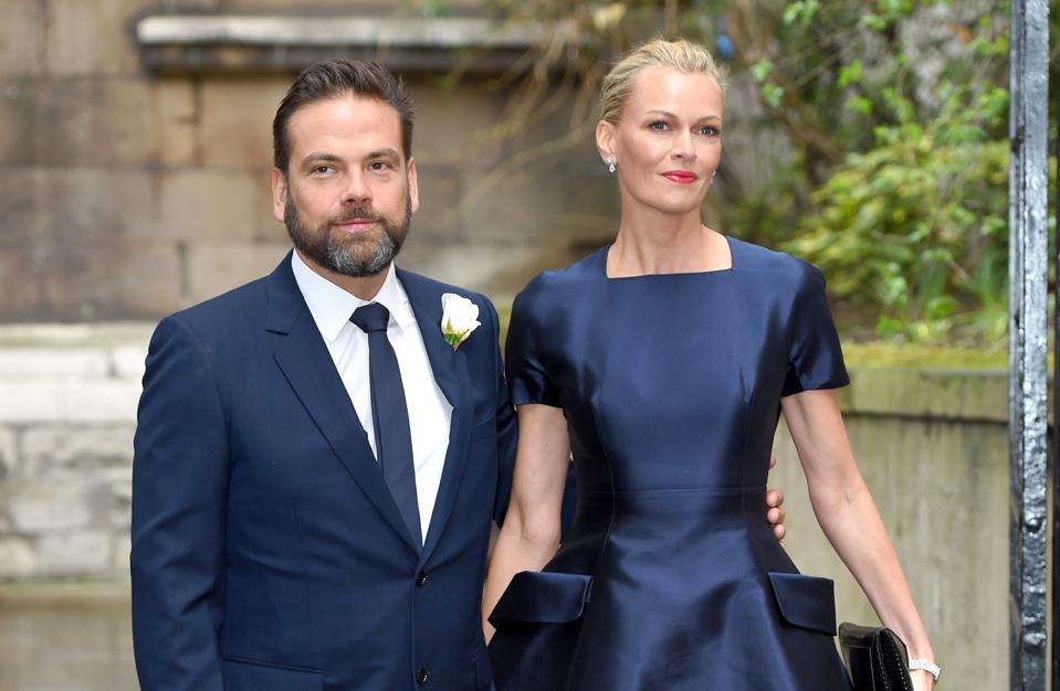 Jerry Hall Marries Media Mogul Rupert Murdoch At St Brides Church