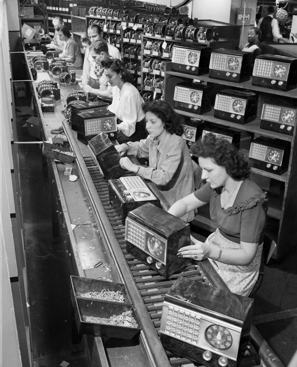 Radio Assembly Line in New York
