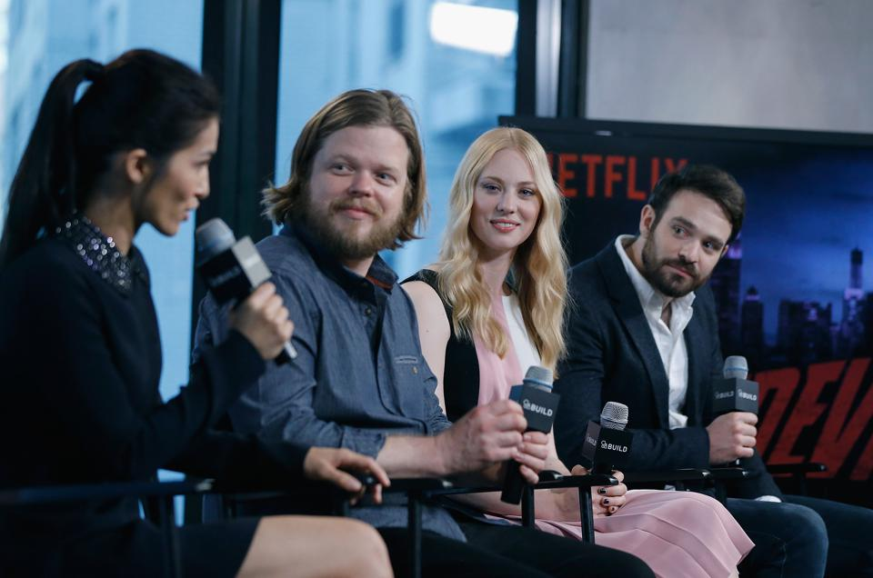 AOL Build Speakers Series - Cast Of Netflix Original Series ″Marvel's Daredevil″
