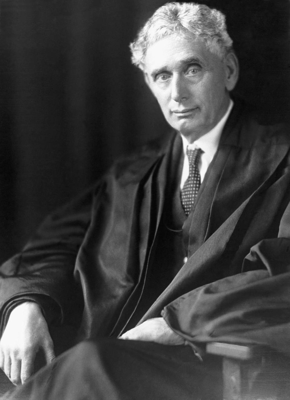 Supreme Court Justice Louis D. Brandeis