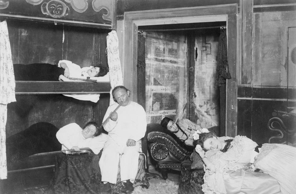 Customers of an Opium Den