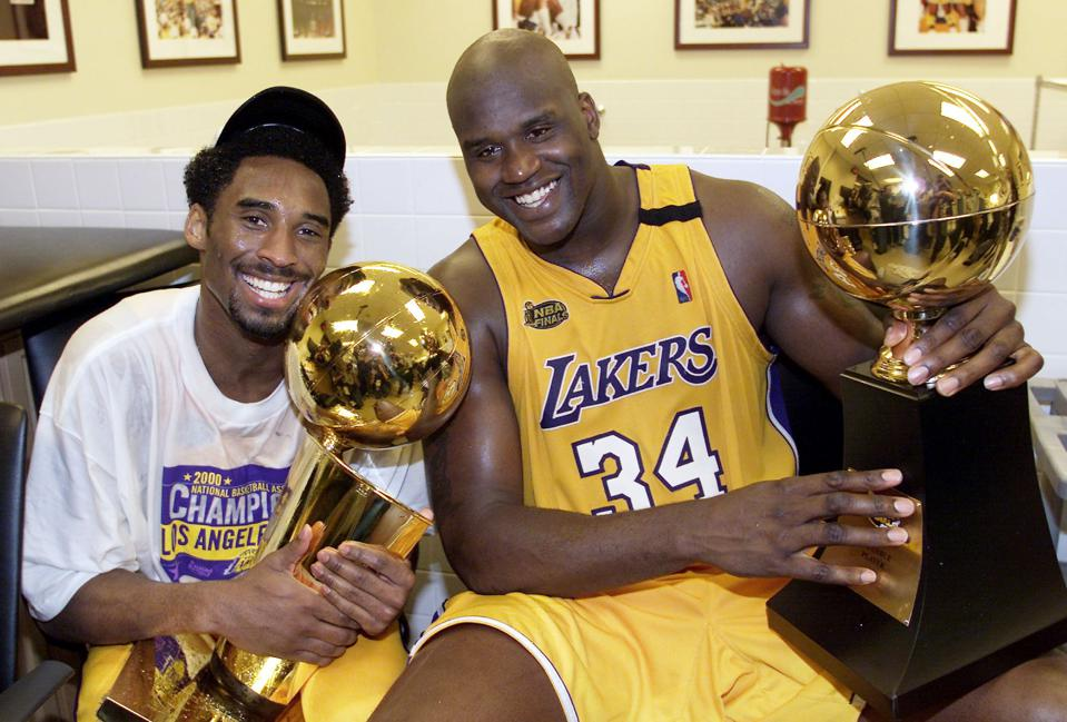 Shaquille O'Neal, Kobe Bryant, Los Angeles Lakers