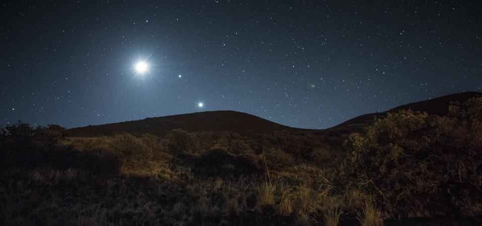 How to see Jupiter, Saturn and Mars at dusk this week.
