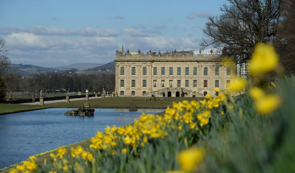 Chatsworth House,   (Photo by OLI SCARFF/AFP via Getty Images)