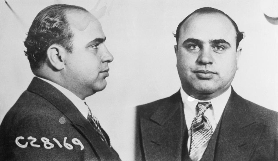 al capone sentenced to prison for tax evasion on this day in 1931