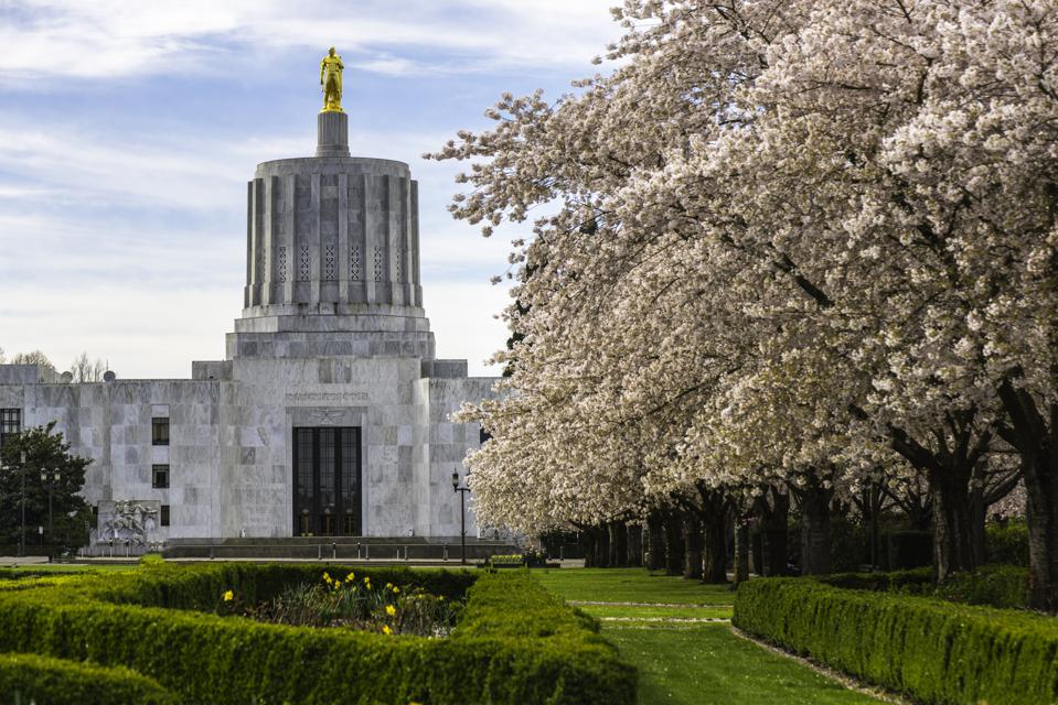 Oregon State Capital Building