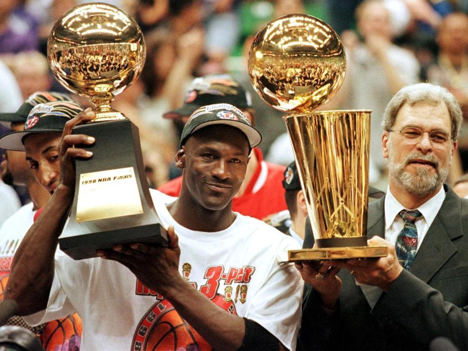 June 1998, Michael Jordan, Phil Jackson, The Last Dance